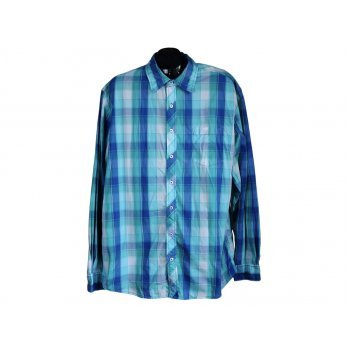 Рубашка мужская в клетку VAN VAAN, XL