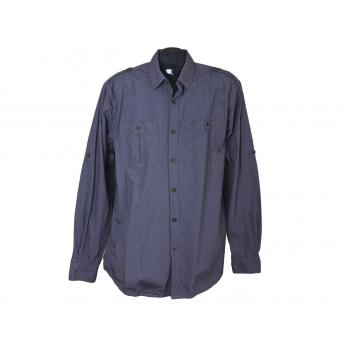 Рубашка мужская серая BLUE INC, L