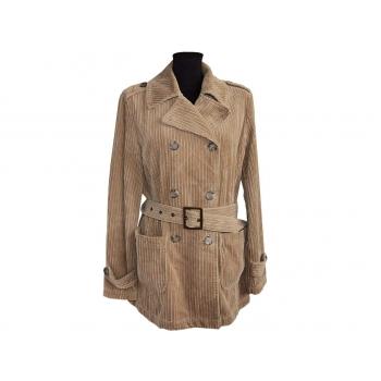 Женское вельветовое пальто BENETTON, L