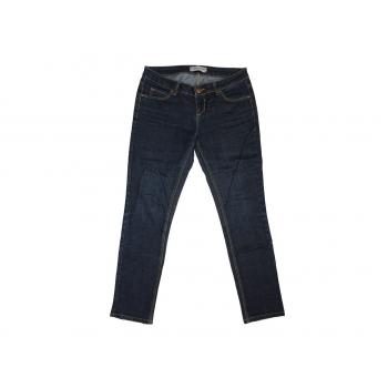 Женские узкие синие джинсы, М