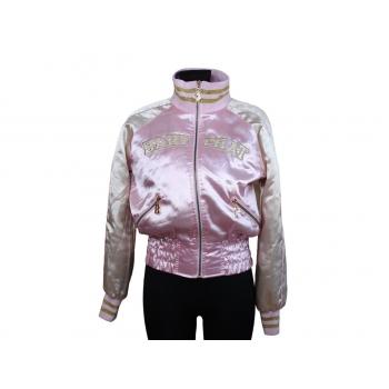 Женская розовая куртка весна осень BABY PHAT, S