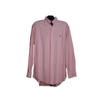 Мужская розовая рубашка POLO RALPH LAUREN