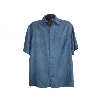 Мужская шелковая рубашка MARKS & SPENCER COLLEZIONE, L