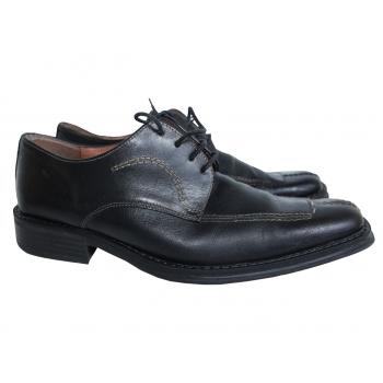 Мужские кожаные туфли 42 размер