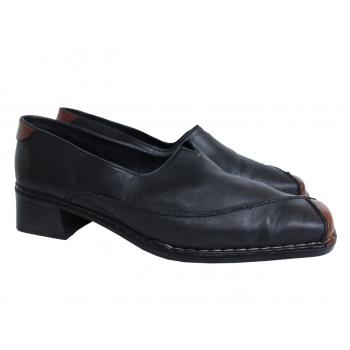 Женские кожаные туфли RIEKER 40 размер