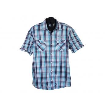 Рубашка мужская в клетку regular fit S.OLIVER, XL