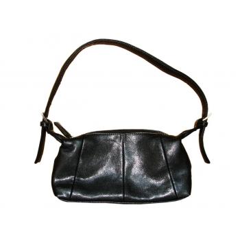 Женская кожаная черная сумочка