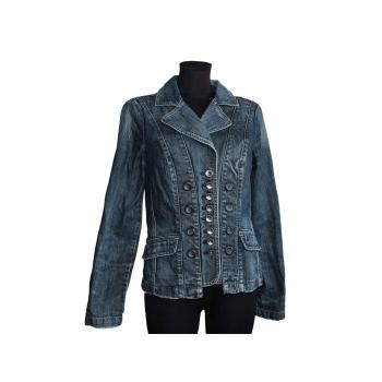 Женская синяя джинсовая куртка REVOLUTION, S