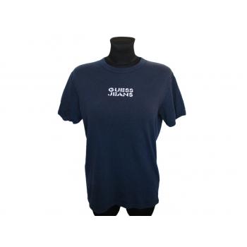 Женская синяя футболка GUESS, М