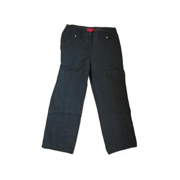 Женские черные брюки STREET ONE, L