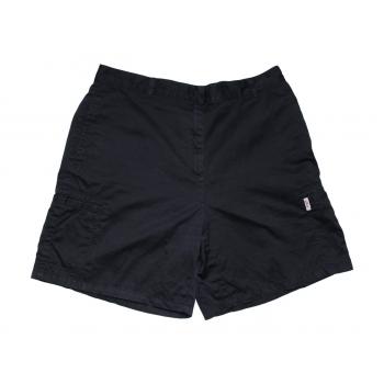 Женские черные шорты с высокой талией S`OLIVER