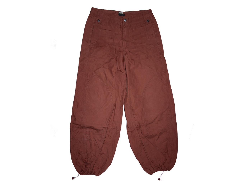 Женские коричневые широкие брюки DIDI, S