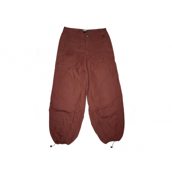 Женские коричневые широкие брюки DIDI