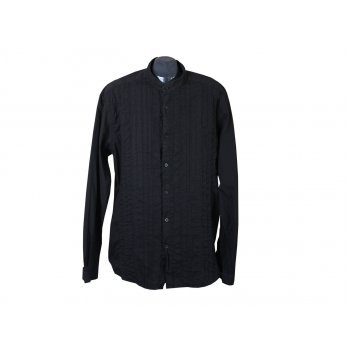 Рубашка мужская черная JULES, XL