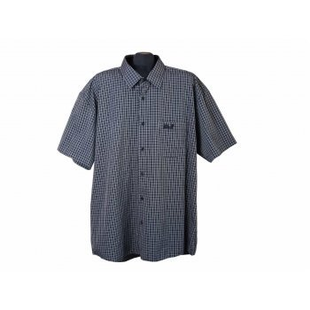 Рубашка мужская серая в клетку JACK WOLFSKIN, XXL