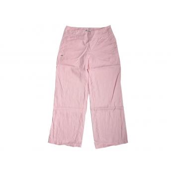 Женские розовые льняные брюки TOMMY HILFIGER, XS