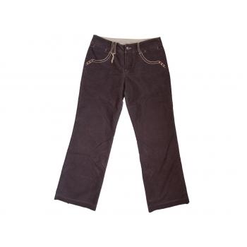 Женские коричневые вельветовые брюки MEXX