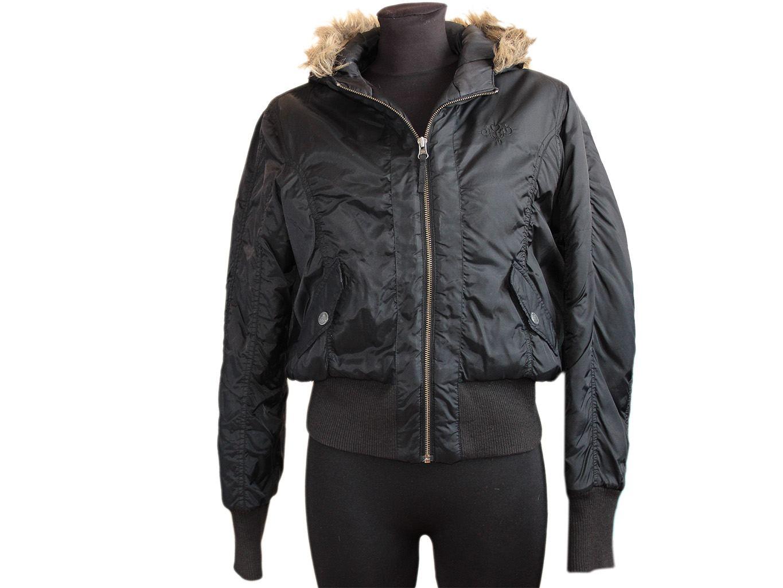 Женская черная куртка весна - осень COOL CAT, L