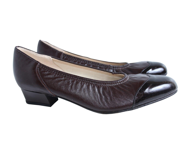 Женские кожаные туфли ELMDALE 38 размер