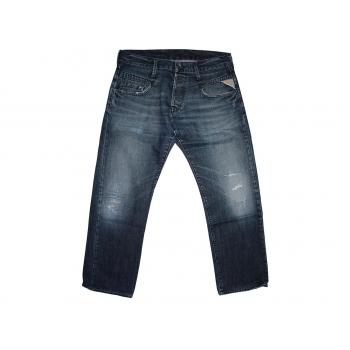 Мужские рваные джинсы REPLAY W 34 L 29