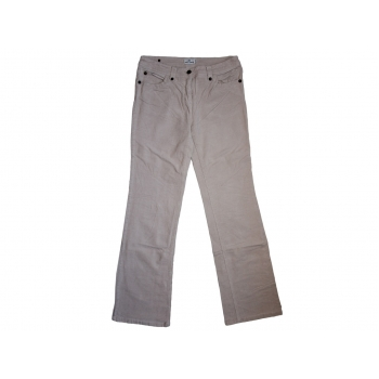 Женские бежевые вельветовые брюки TOM TAILOR, S
