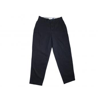 Мужские черные зауженные брюки GAP W 28