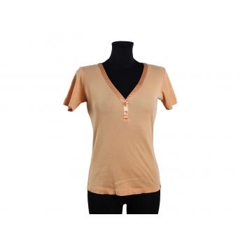 Женская футболка персикового цвета MEXX