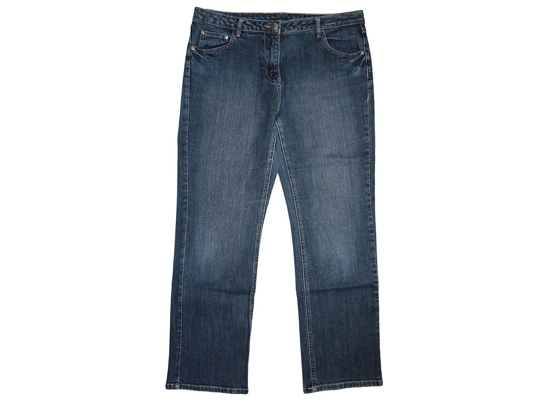 Женские синие джинсы PAPAYA, L