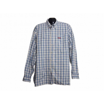 Мужская рубашка в клетку KICКERS, XL