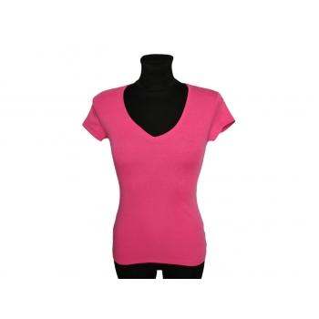 Женская футболка малинового цвета H&M, XXS