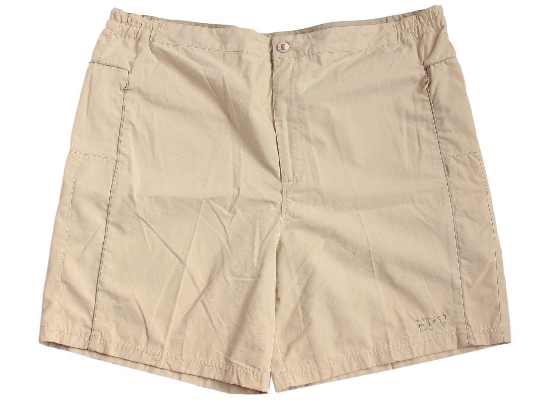 Женские бежевые шорты большого размера EPV, XXXL