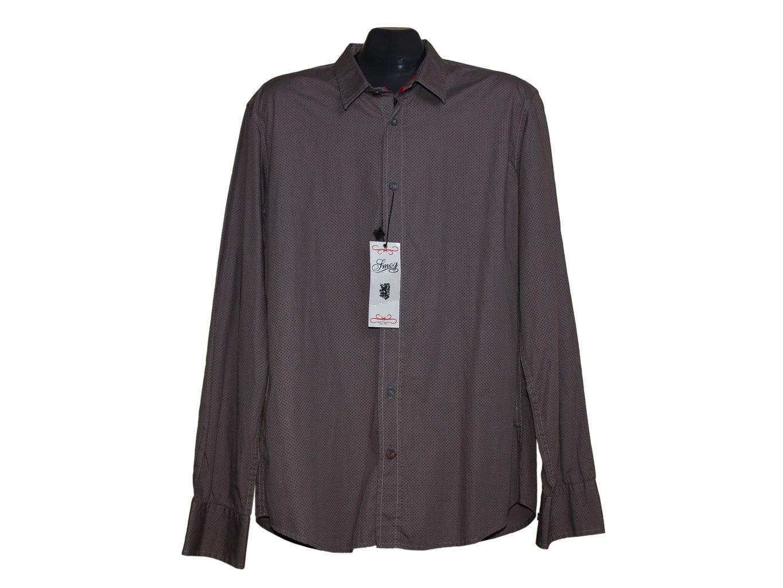 Мужская серая рубашка SMOG, L
