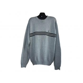 Мужской серый свитер NAUTICA, XL