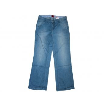 Женские голубые широкие джинсы VERO MODA