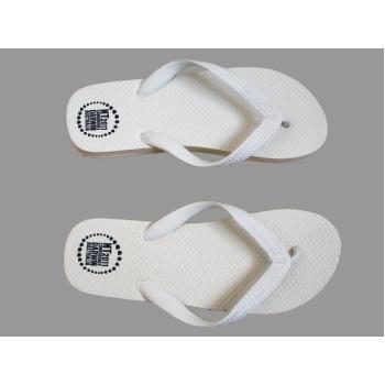 Женские белые пляжные вьетнамки 38 размер