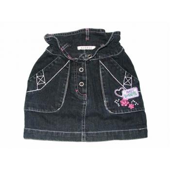Синяя джинсовая юбочка на девочку 3-4 года SWEET SUMMER