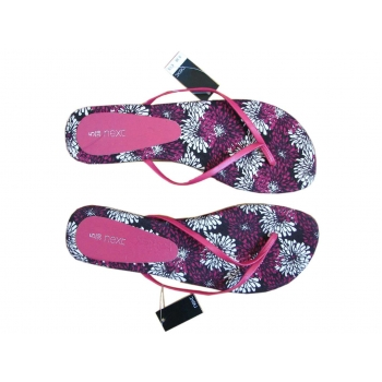 Женские розовые сандалии вьетнамки NEXT 37 размер