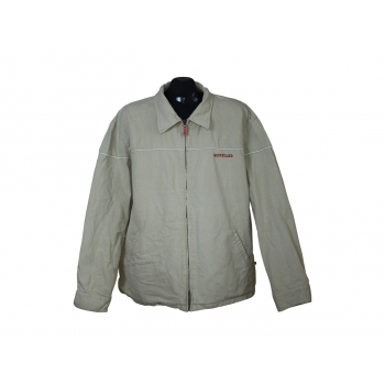 Мужская серая джинсовая куртка на молнии QUIKSILVER, XL