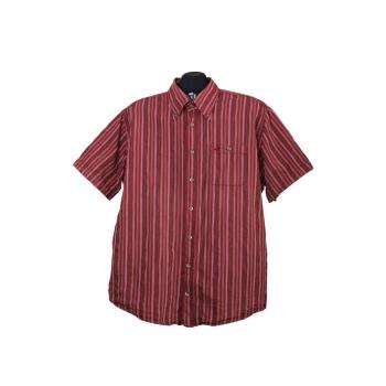 Мужская красная рубашка в полоску CAMEL ACTIVE, XL