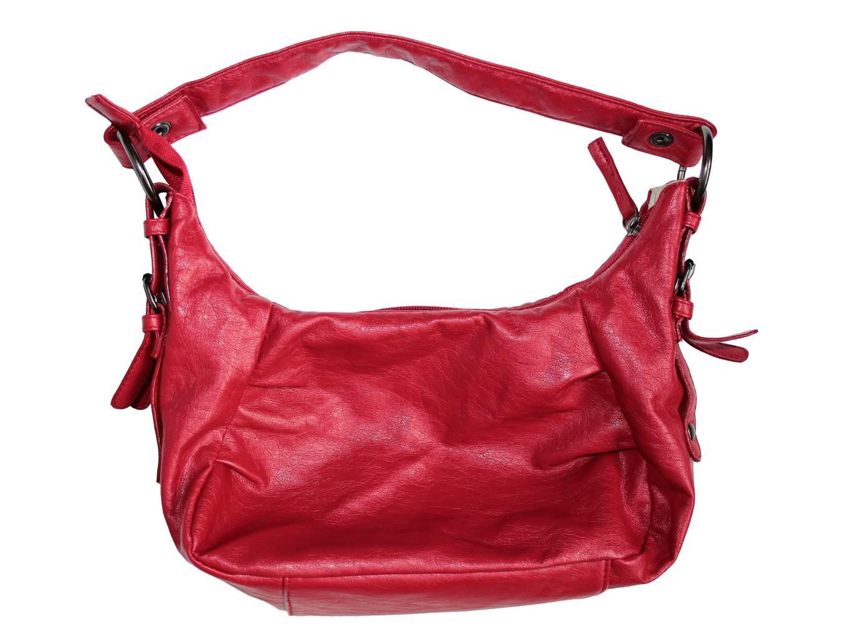 Женская красная сумочка