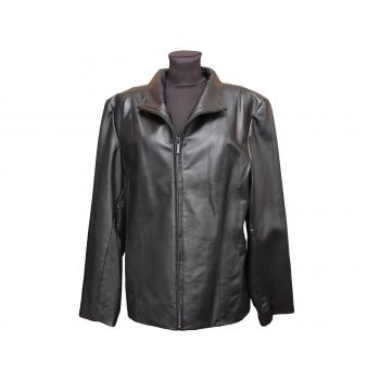 Женская черная кожаная куртка EAST 5TH, XXL
