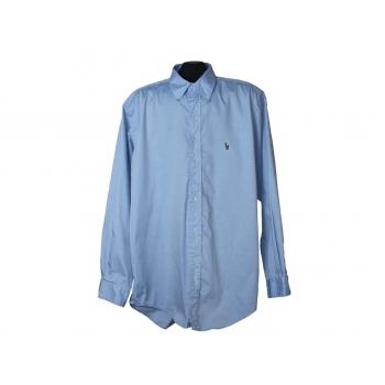 Мужская голубая рубашка POLO by RALPH LAUREN, XL