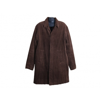 Мужское вельветовое демисезонное пальто SOLID MEN, XL