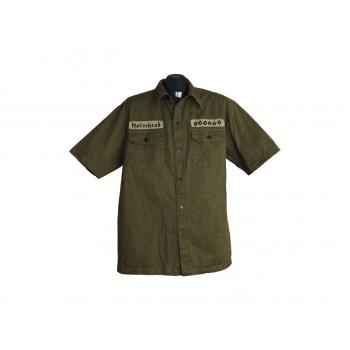 Мужская зеленая рубашка MOTORHEAD ENGLAND, L
