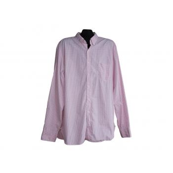 Мужская розовая рубашка в клетку J.CREW, XL