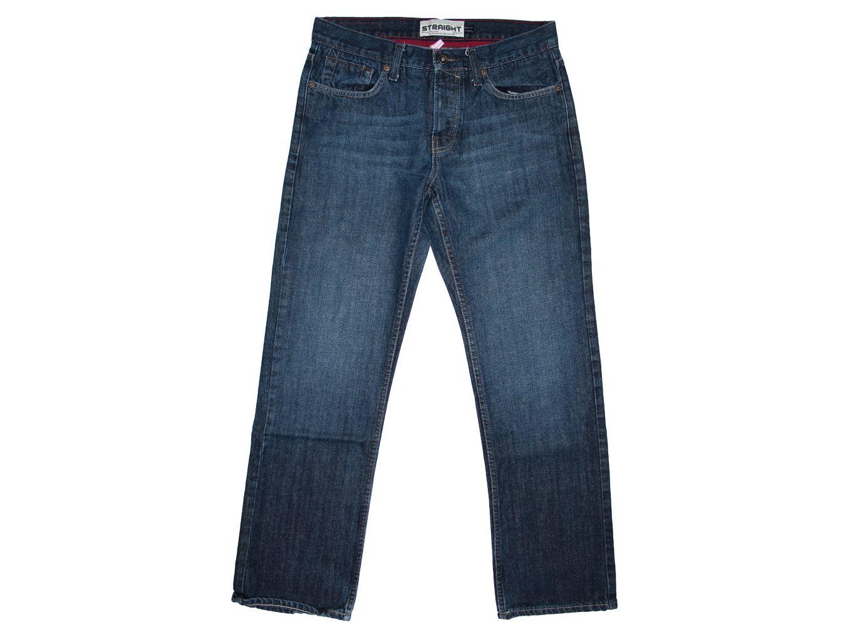 Мужские джинсы синие STRAIGHT TOPMAN W 32 L 32