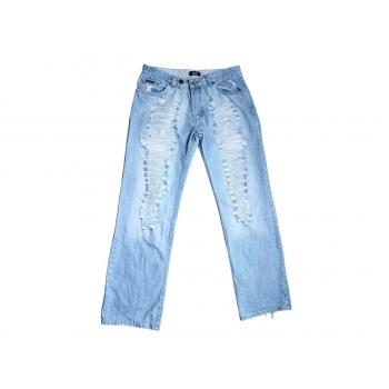 Мужские рваные голубые джинсы DOLCE & GABBANA W 33 L 36