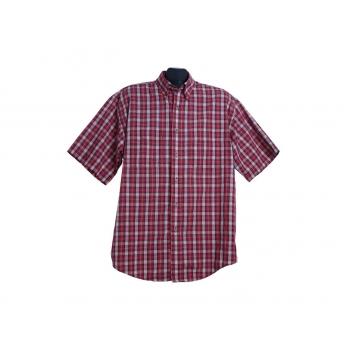 Мужская красная рубашка в клетку VAN HEUSEN, XL