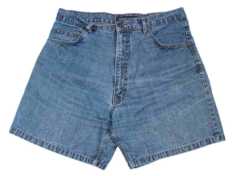 Женские синие джинсовые шорты с высокой талией IMAGE, М