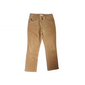 Женские коричневые вельветовые брюки ETAM, М